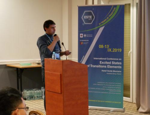 ESTE Conference 08-13.09.2019