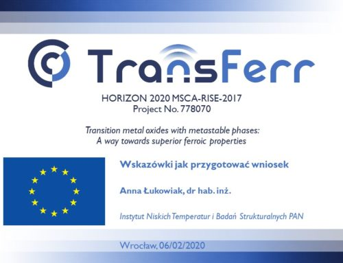 Training related to the Horizon 2020 program in RPK Wrocław