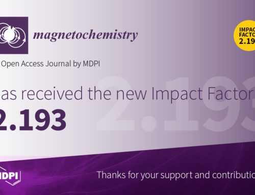Extended submission deadline to the special issue of Magnetochemistry